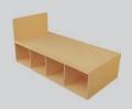 Student Bedroom Furniture Standard Storage Bed - Single