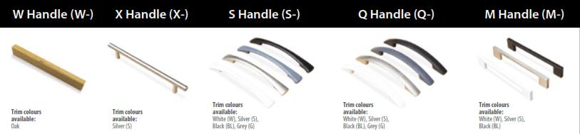 Storage & Sanitising Station_handle options